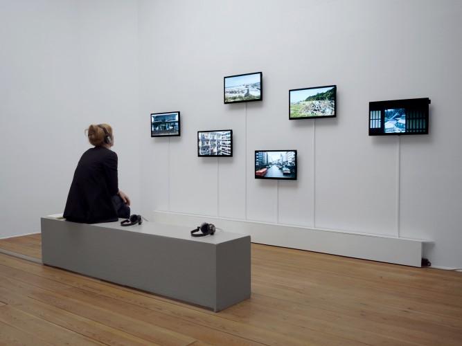 "Exhibition view ""Precarious Spaces, Radiant Days"" (2016) Uppsala konstmuseum, photo: Timo Menke"